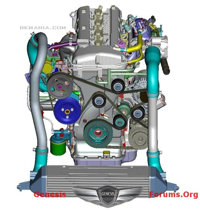 factory engine schematic for 2 0t hyundai genesis forum rh genesisforums org hyundai genesis coupe engine diagram Revelation Diagram